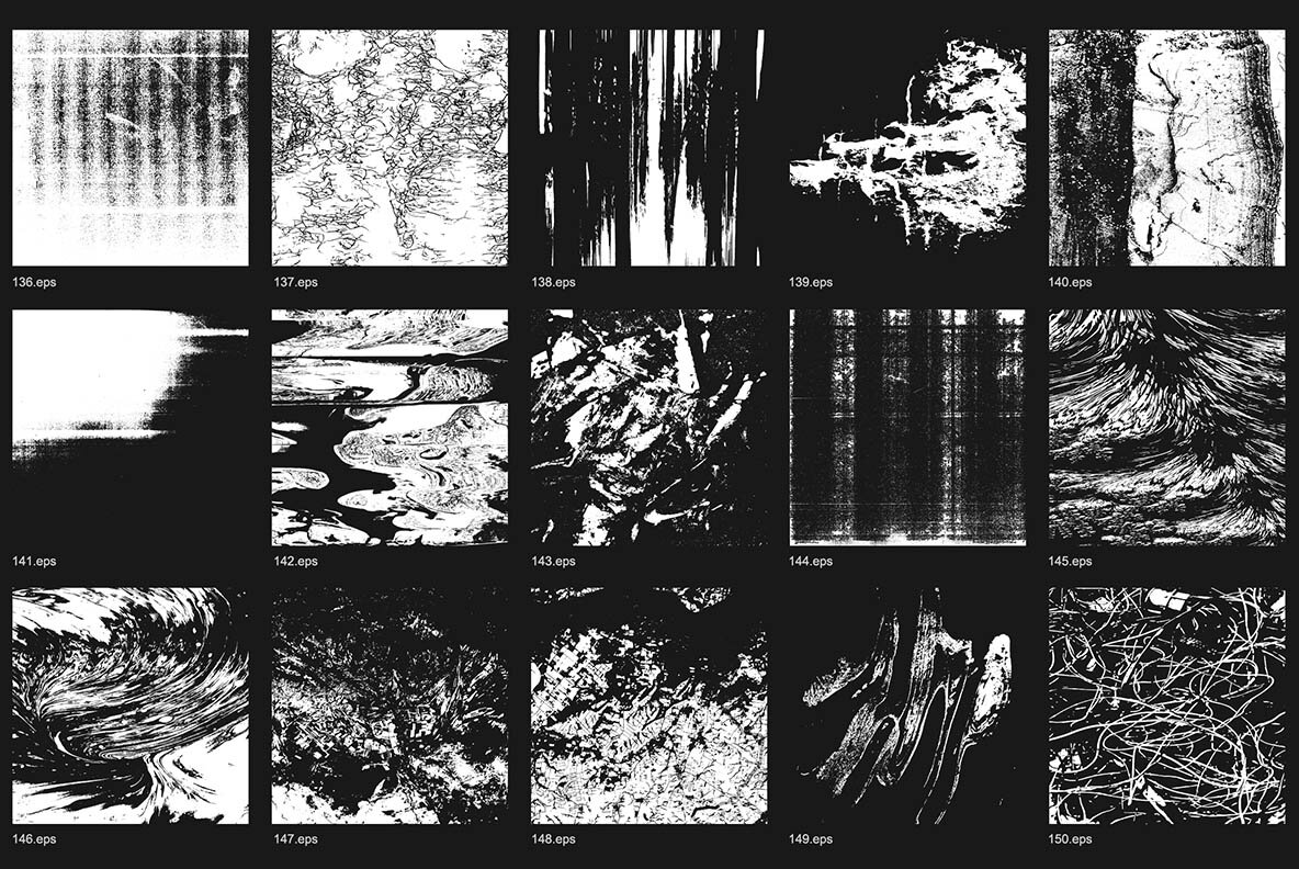 200 Vector Abstract Textures