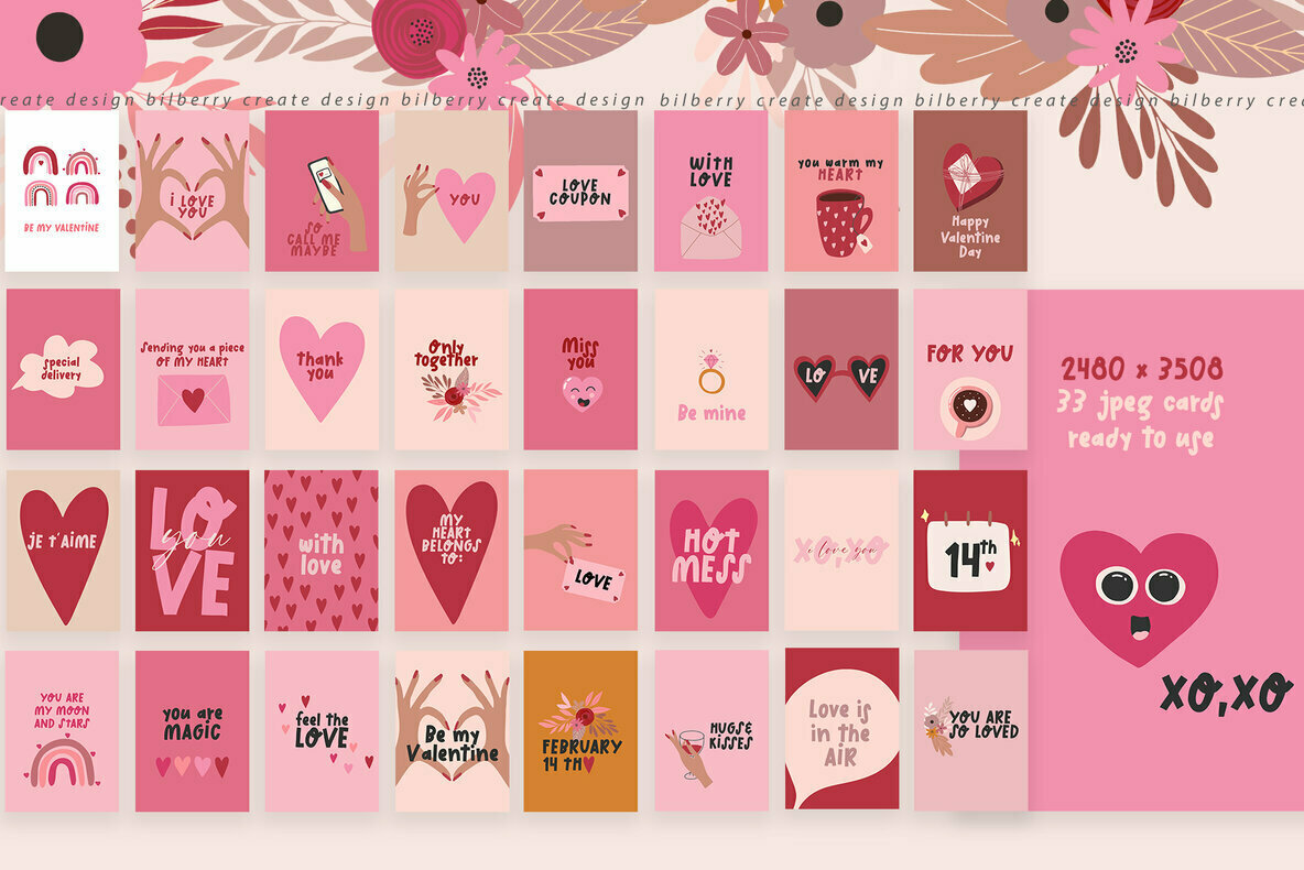 Be My Valentine Art Set