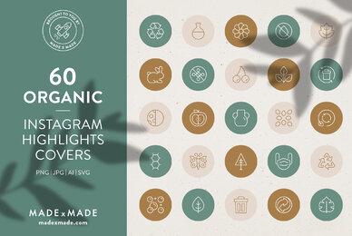 Organic     Instagram Highlight Covers