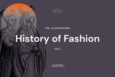 History of Fashion   Vol 1