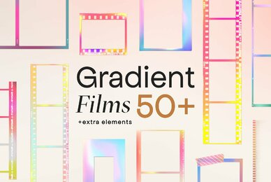 Gradient High Quality Film Frames