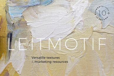 Earthy vintage hues artsy textures