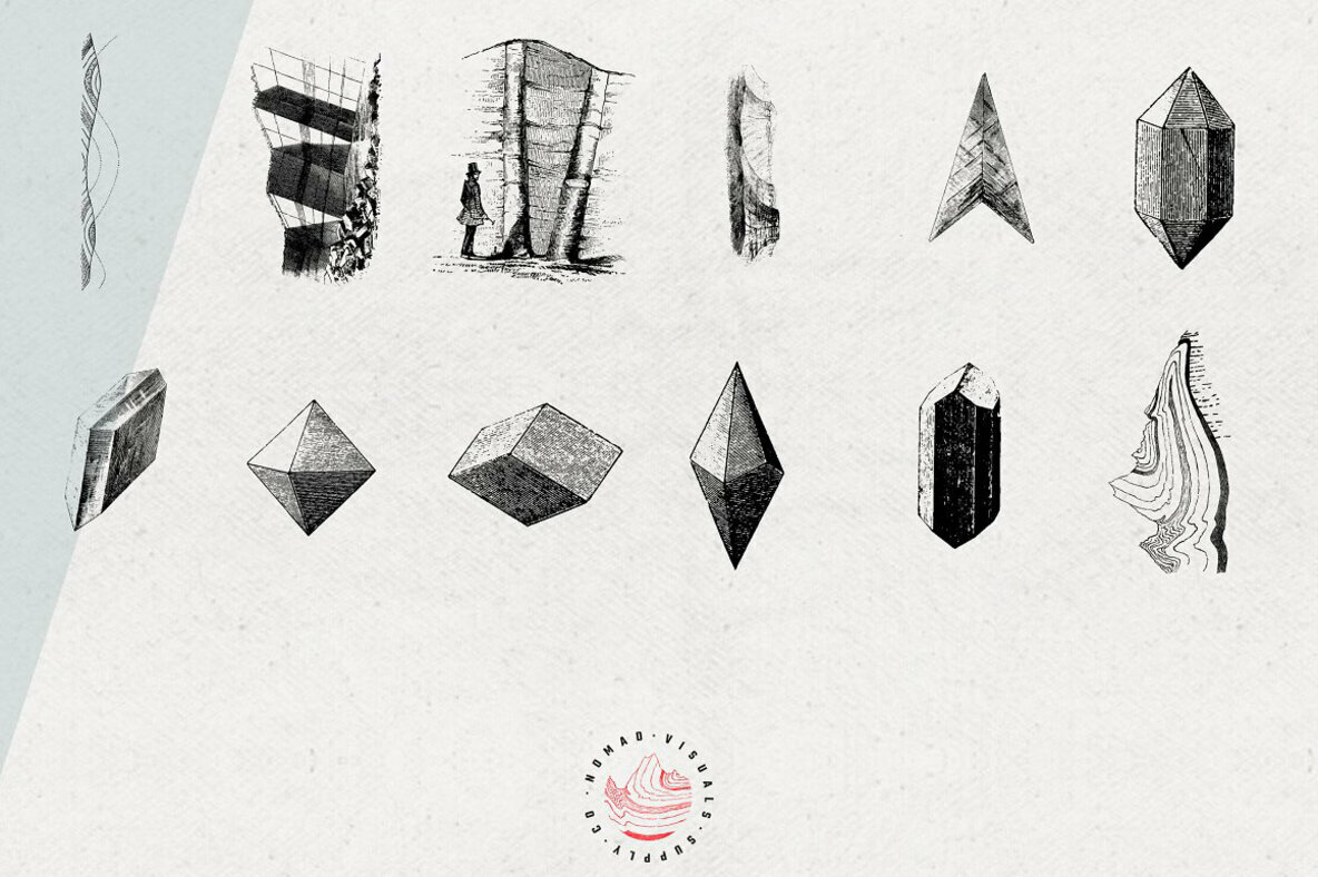 Gems   Stones Geology Illustrations