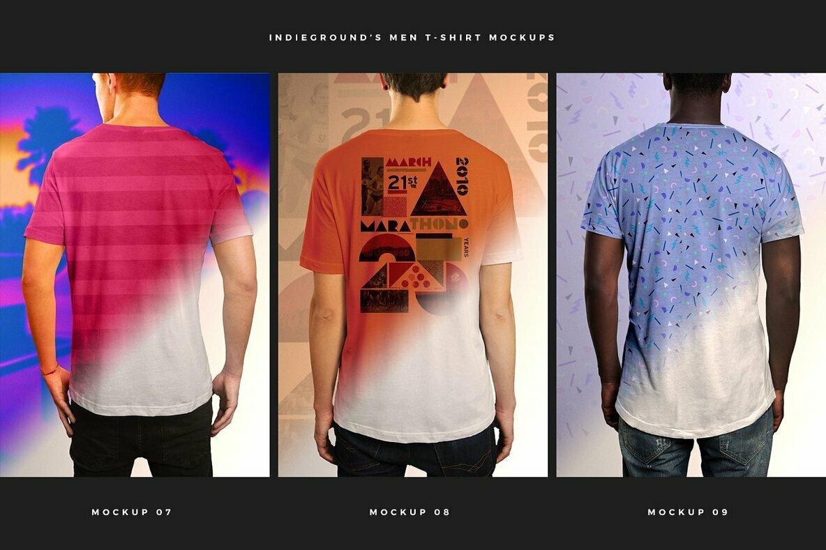 Men T Shirt Mockups