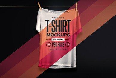 Studio T Shirt Mockups