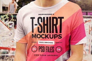 Urban T Shirt Mockups