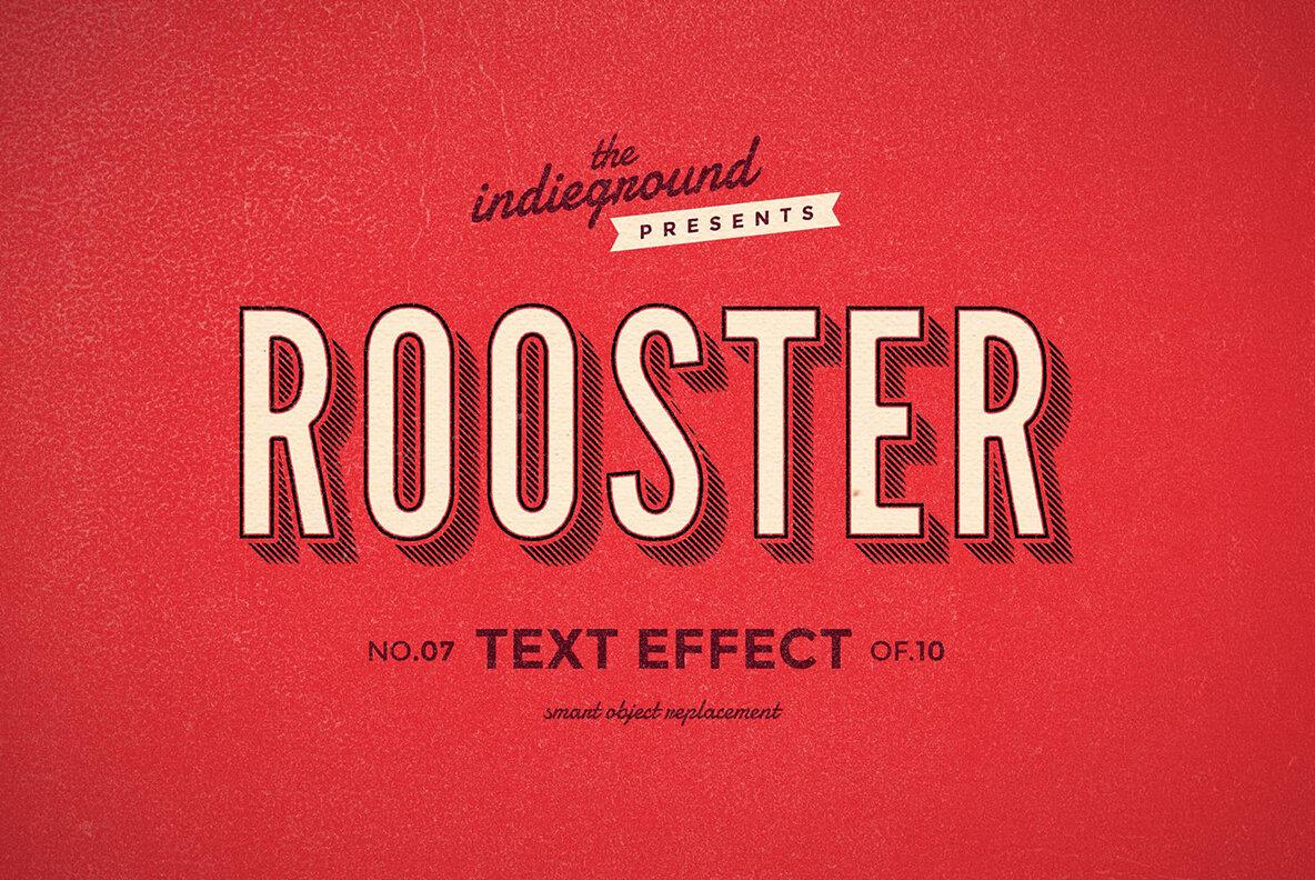 Retro Text Effects Vol 1