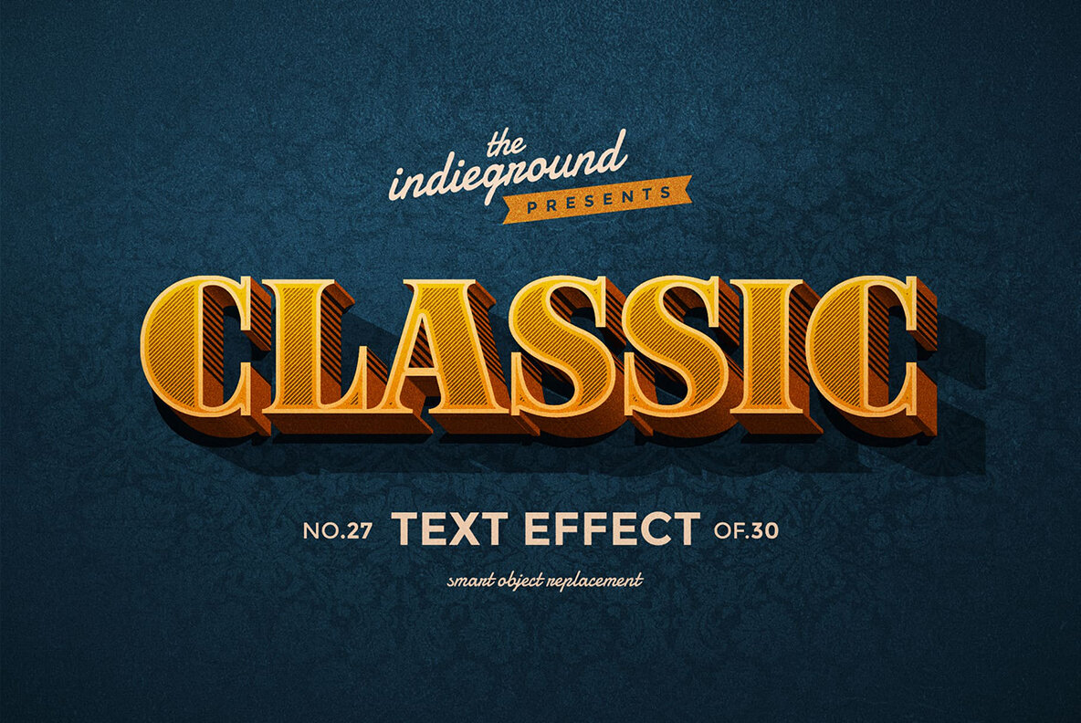 Retro Text Effects Vol 3