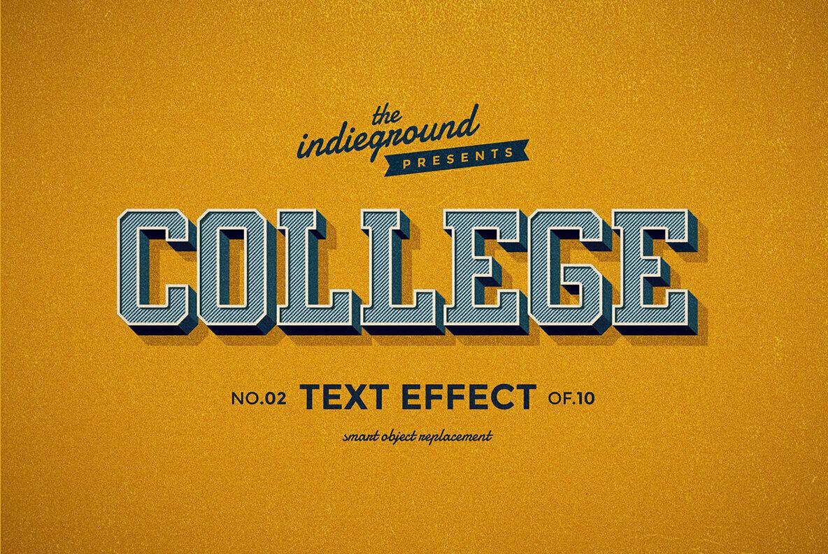 Retro Text Effects Complete Bundle