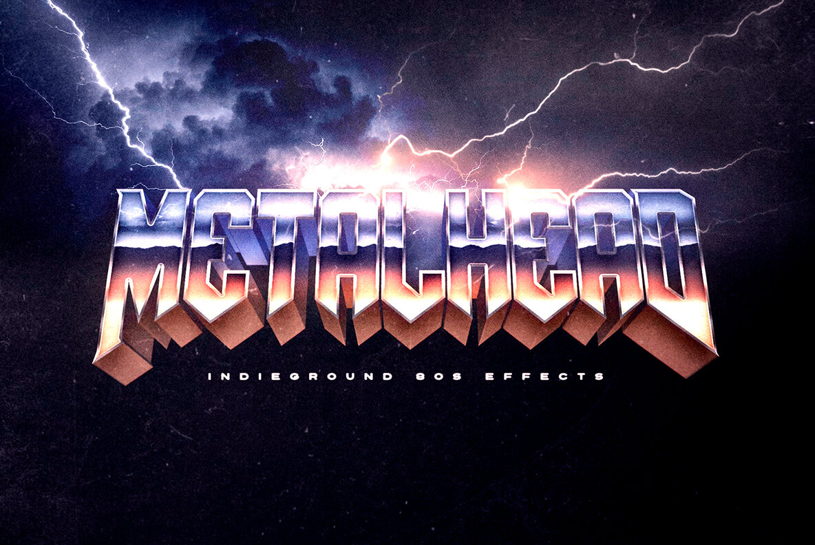 80s Text Effects Vol 3