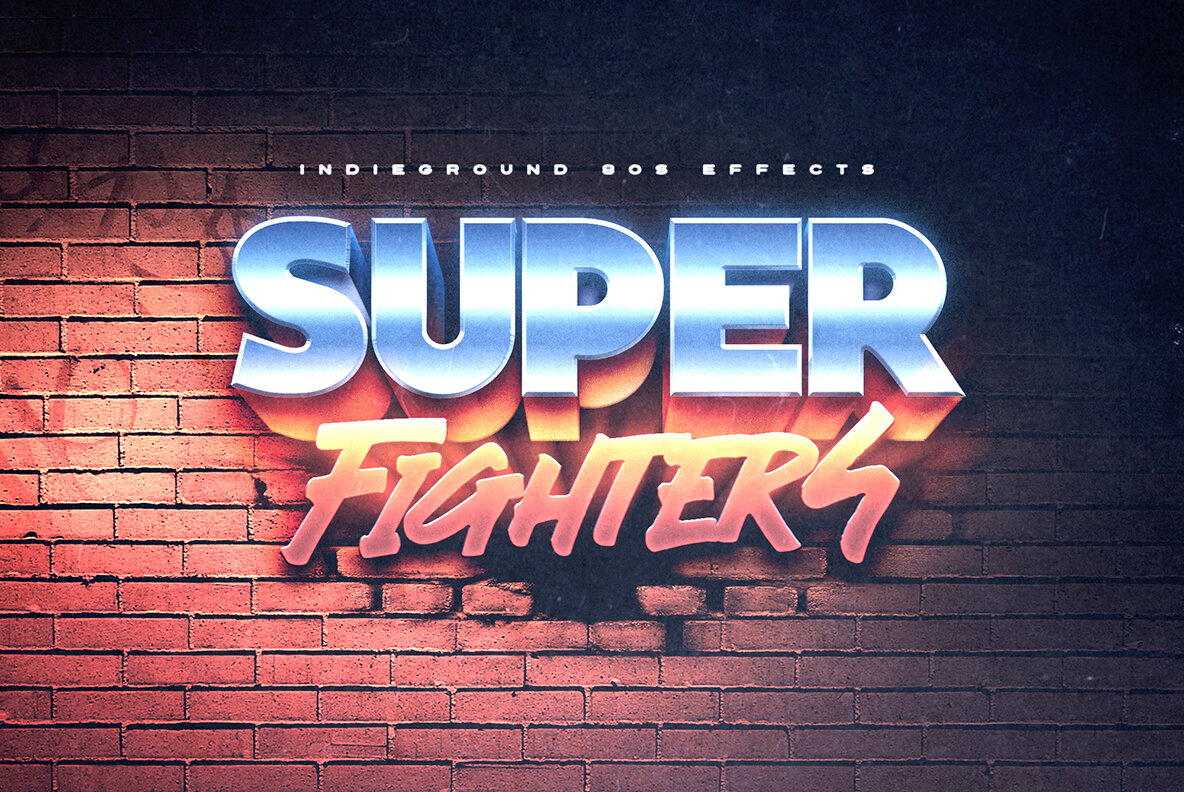 80s Text Effects Complete Bundle