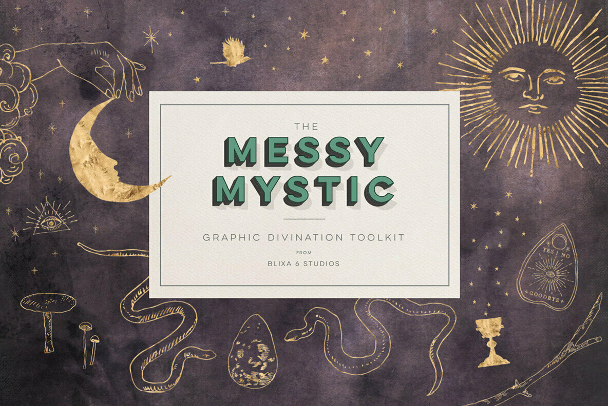 The Messy Mystic Graphic Divination Toolkit