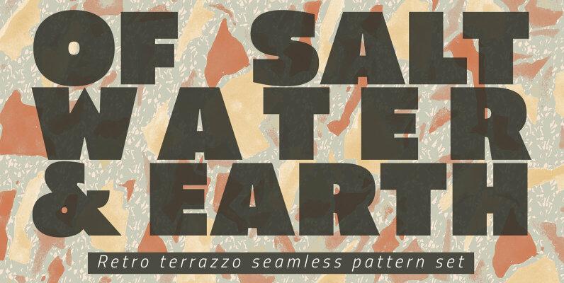 Neutral Terrazzo Patterns