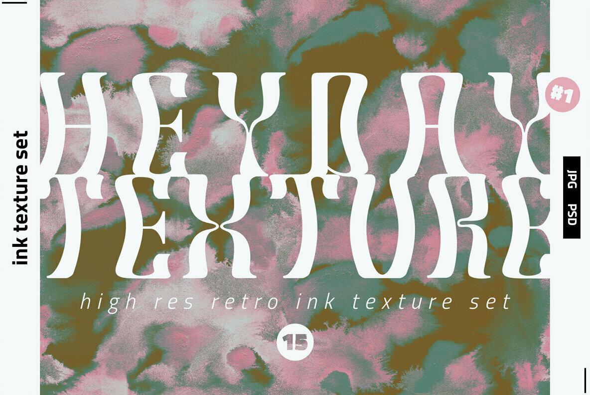 HEYDAY INK TEXTURES