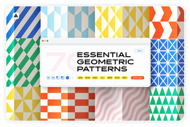 Essential Geometric Patterns Collection