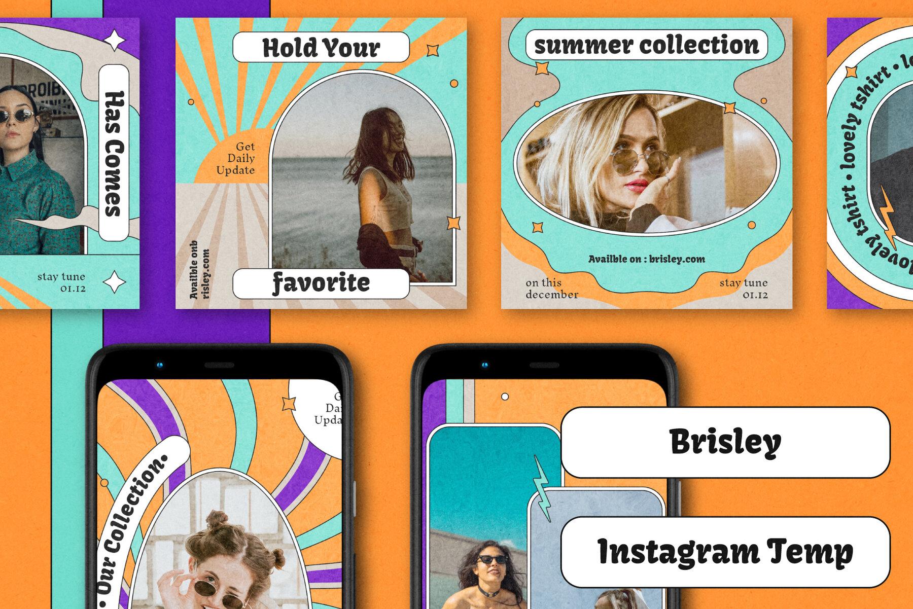 Brisley Instagram Post Stories