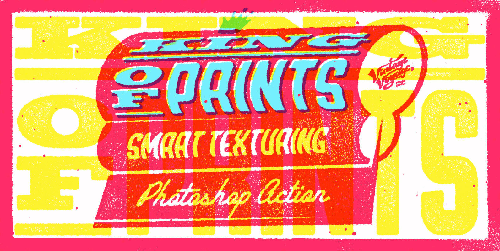 King of Prints - Smart Texturing