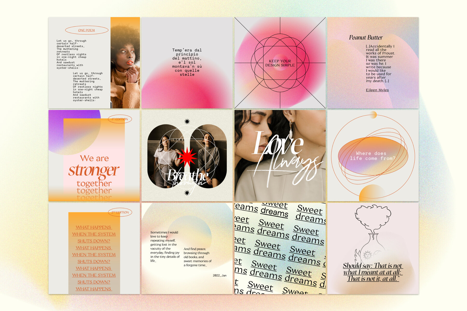 Makeshift Carousel   Quotes Canva PS