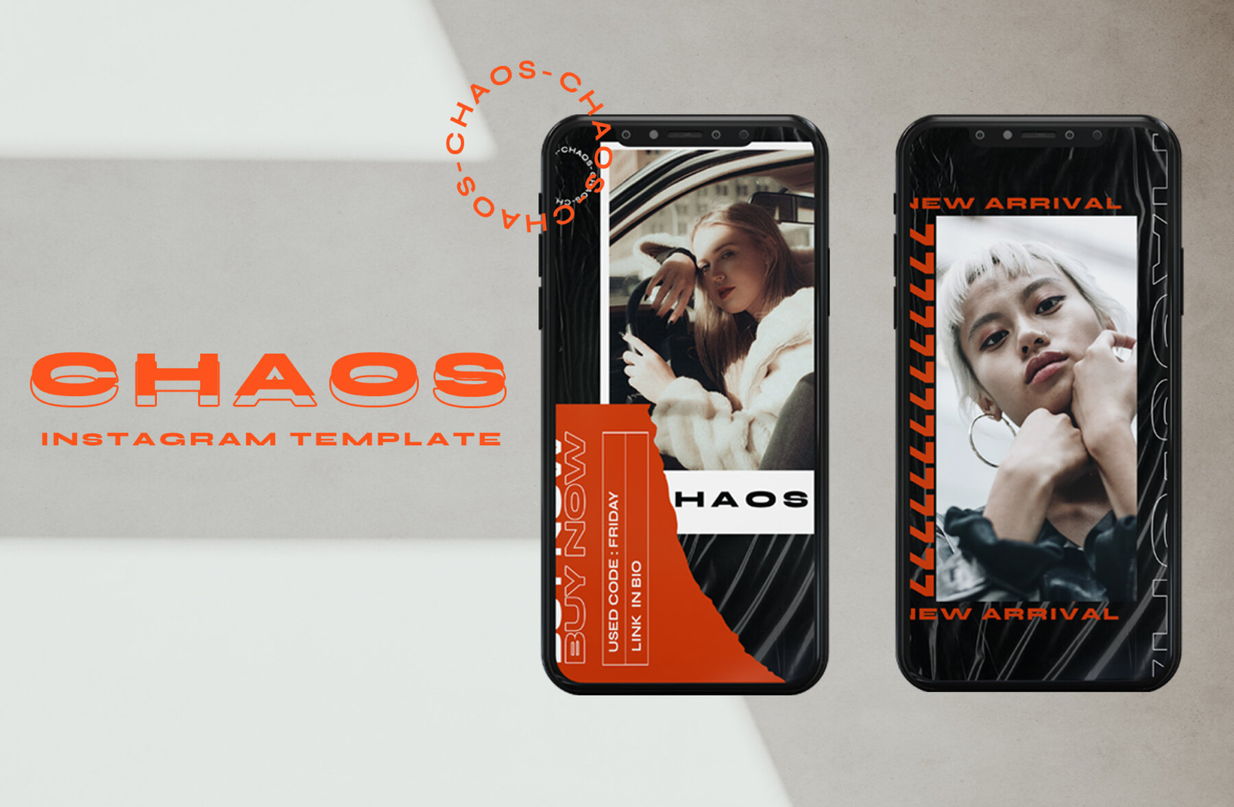 Chaos Instagram Template