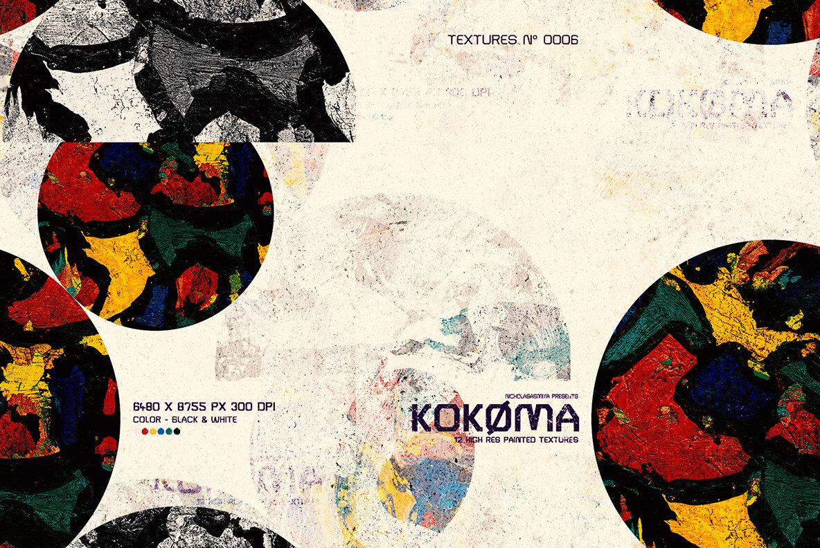 Kokoma Painted Textures