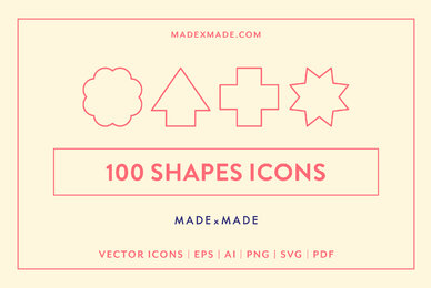Shapes Line Icons