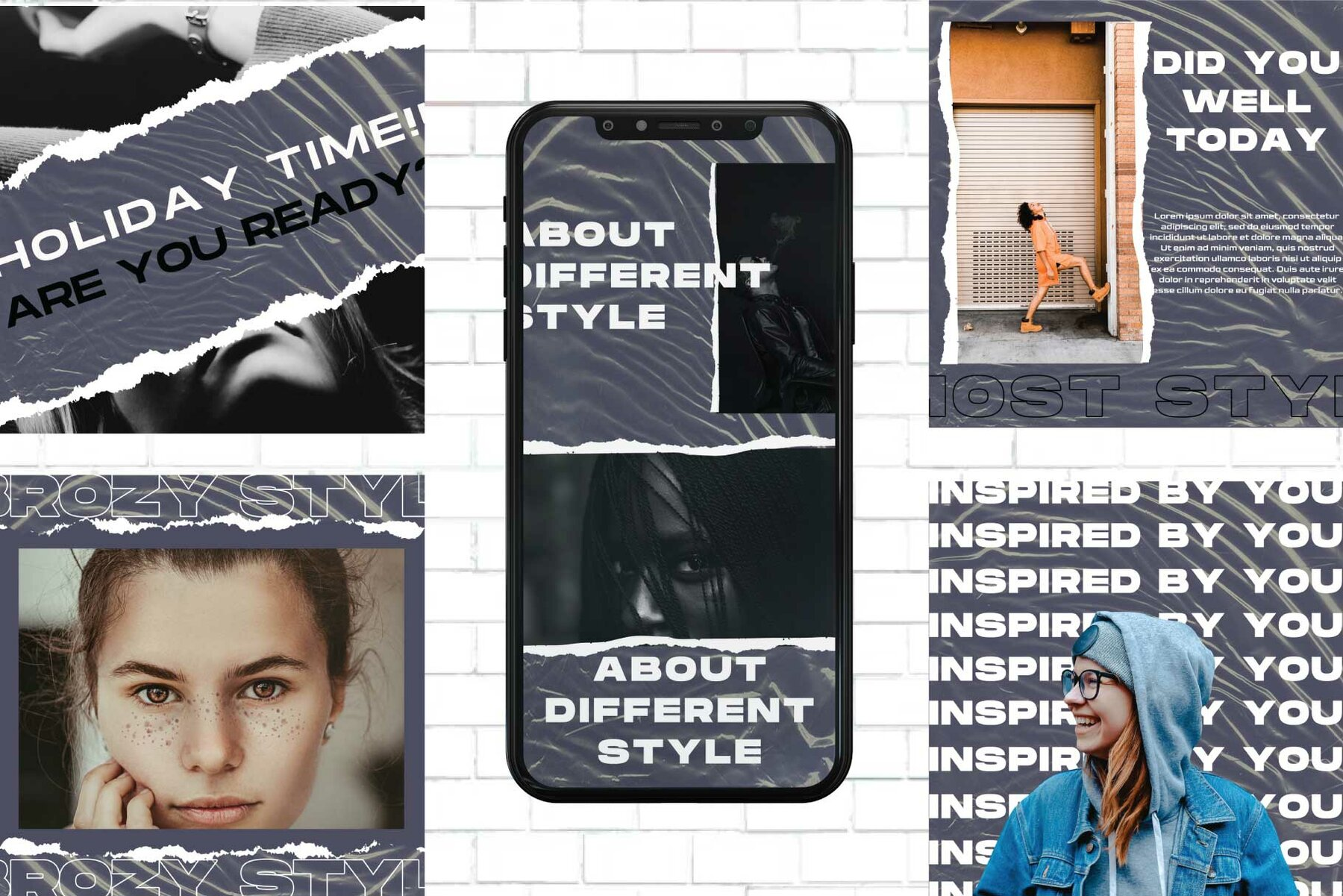 Brozy Instagram Template