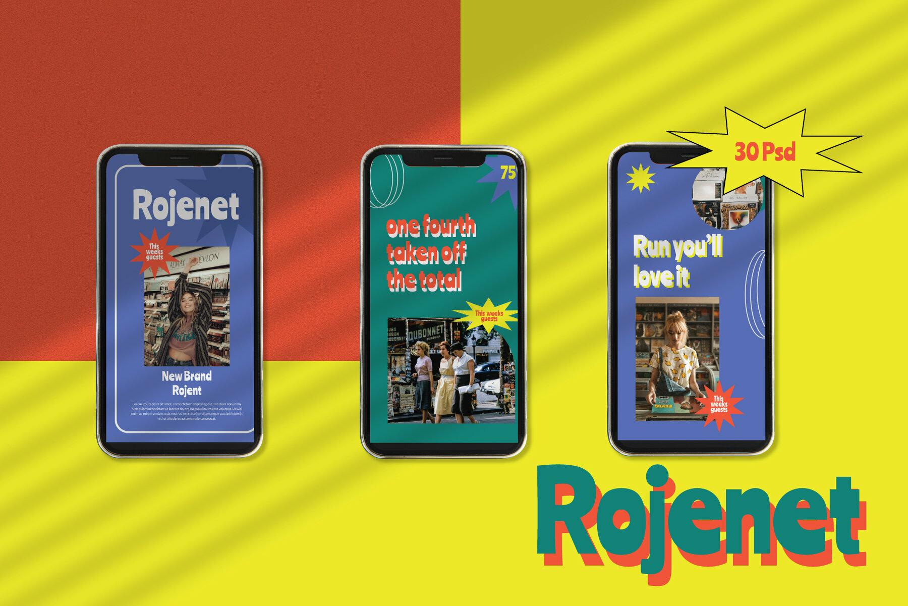 Rojanet Instagram Template