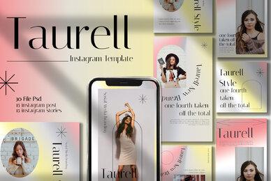 Taurel Instagram Template
