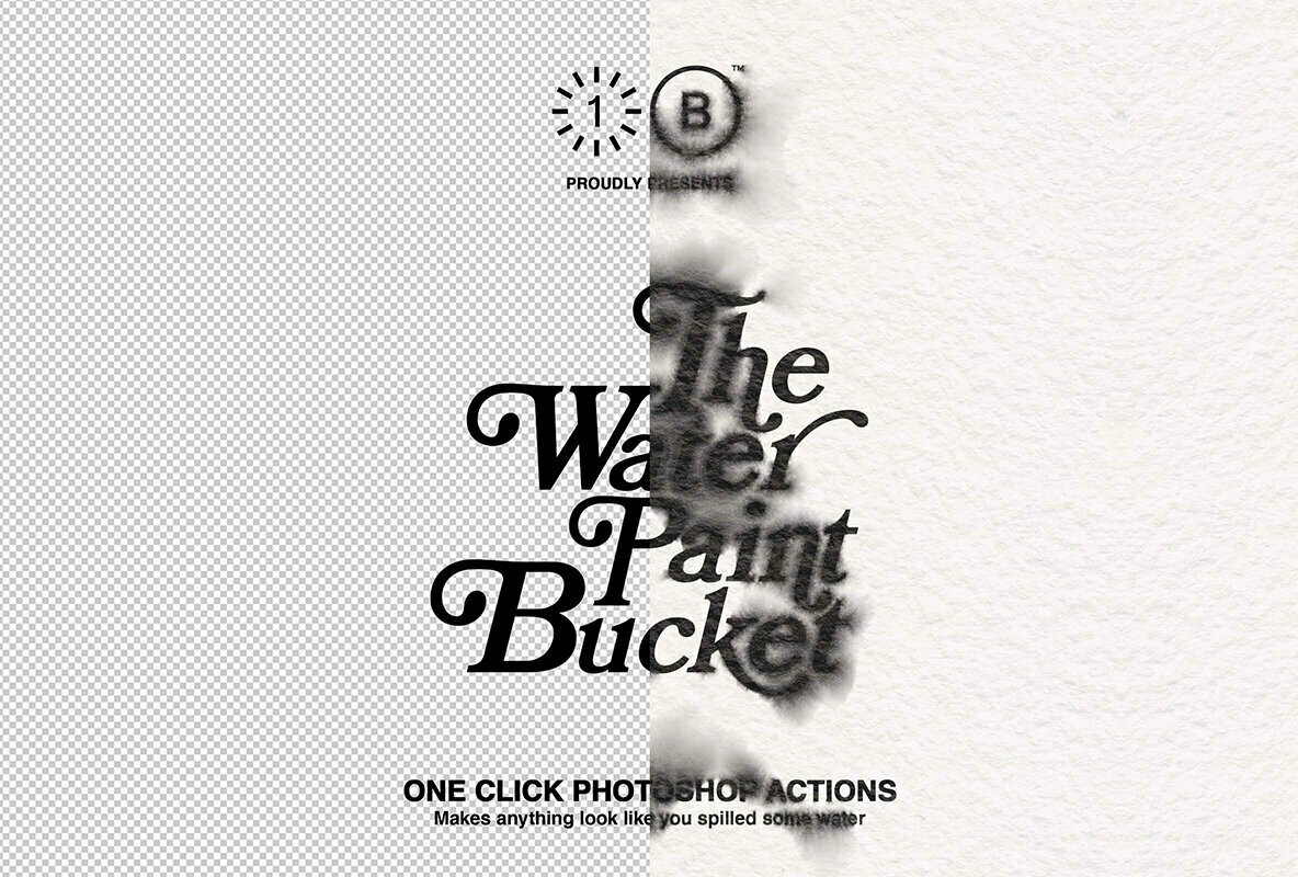 The Water Paint Bucket   One Click