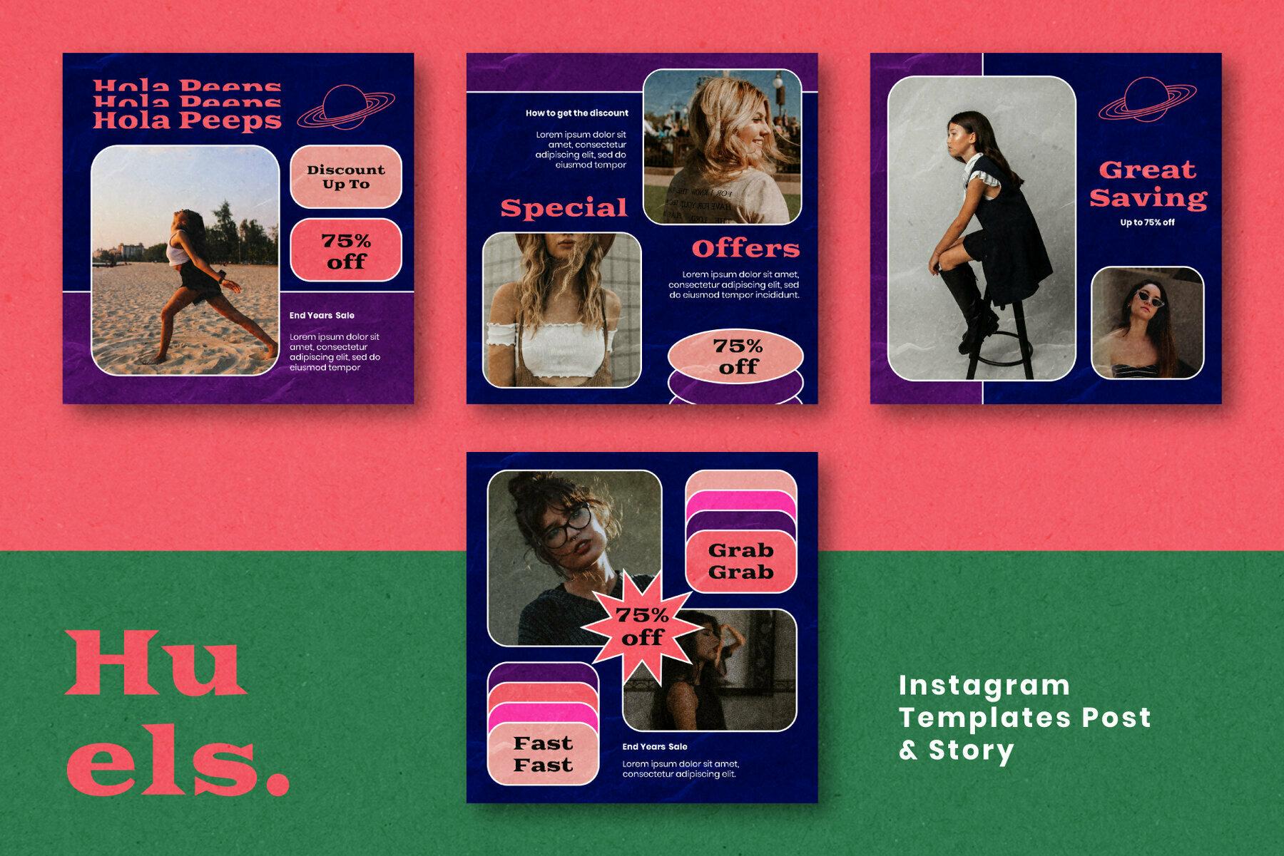 Huels Instagram Template