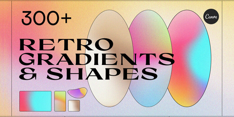 Angeles   Gradients   Shapes
