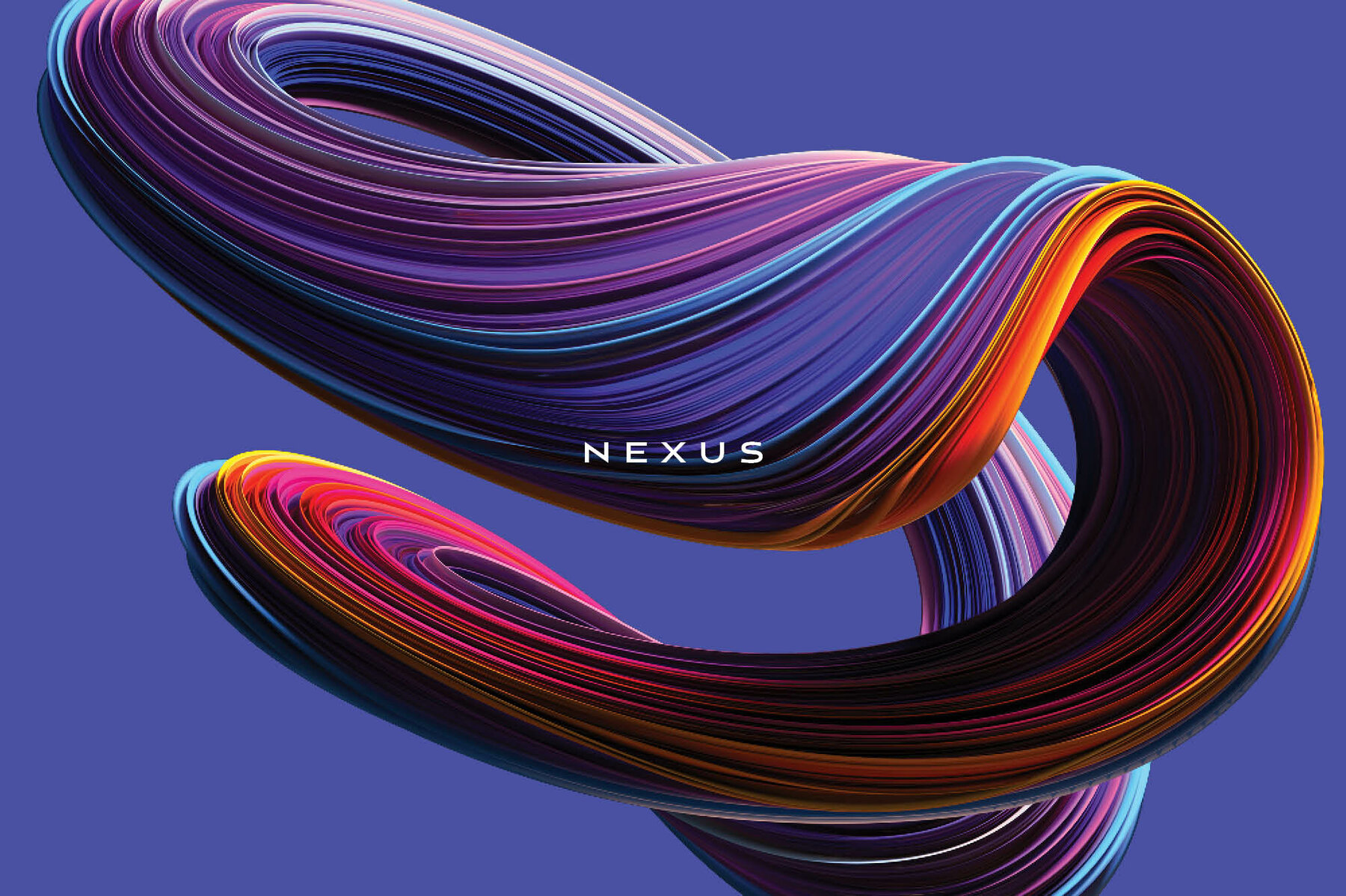 Nexus     Swirling Abstract Shapes