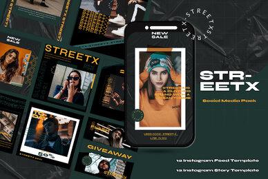 STREETX Instagram Template