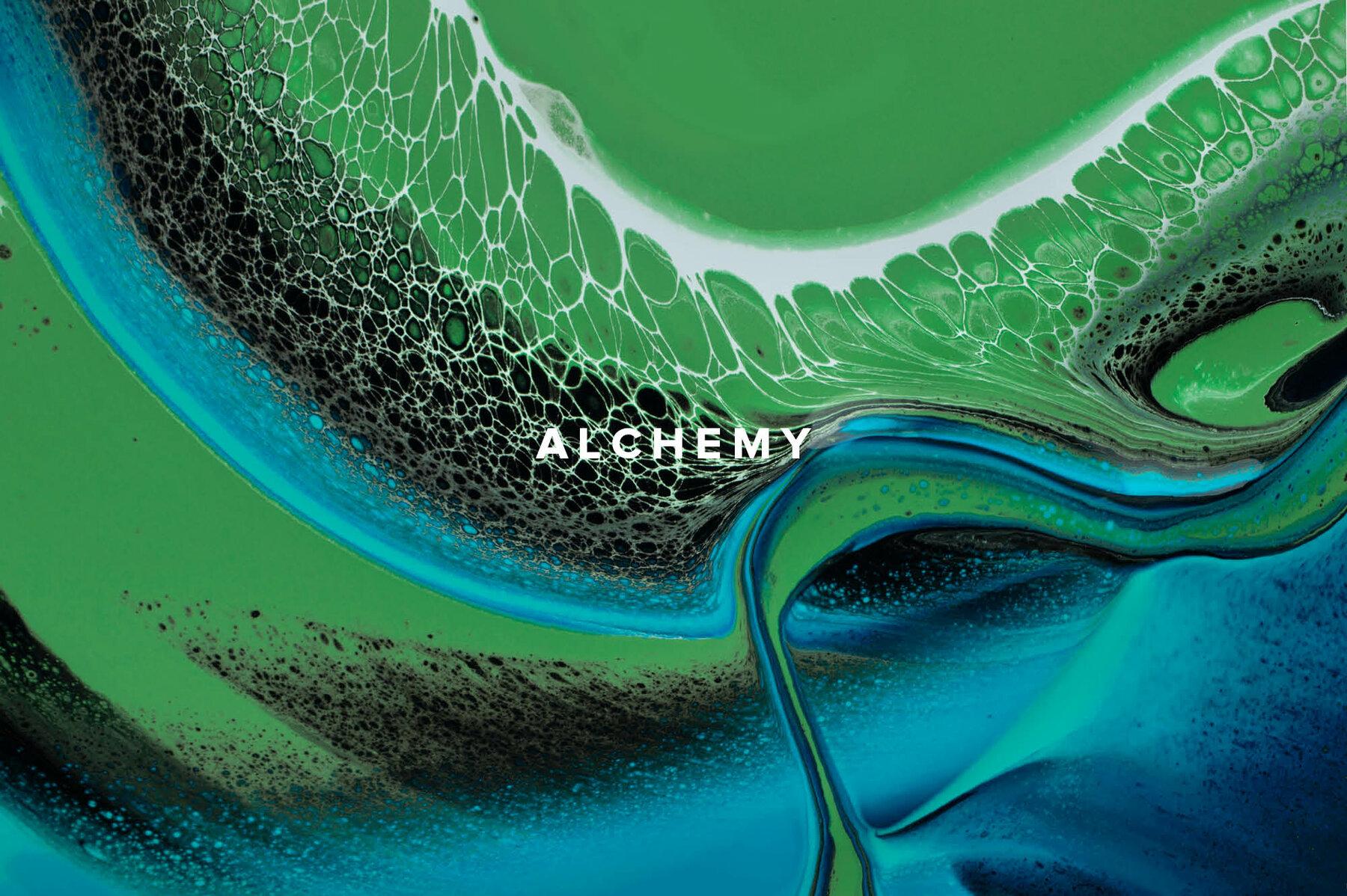 Alchemy     Fluid Acrylic Paint Textures