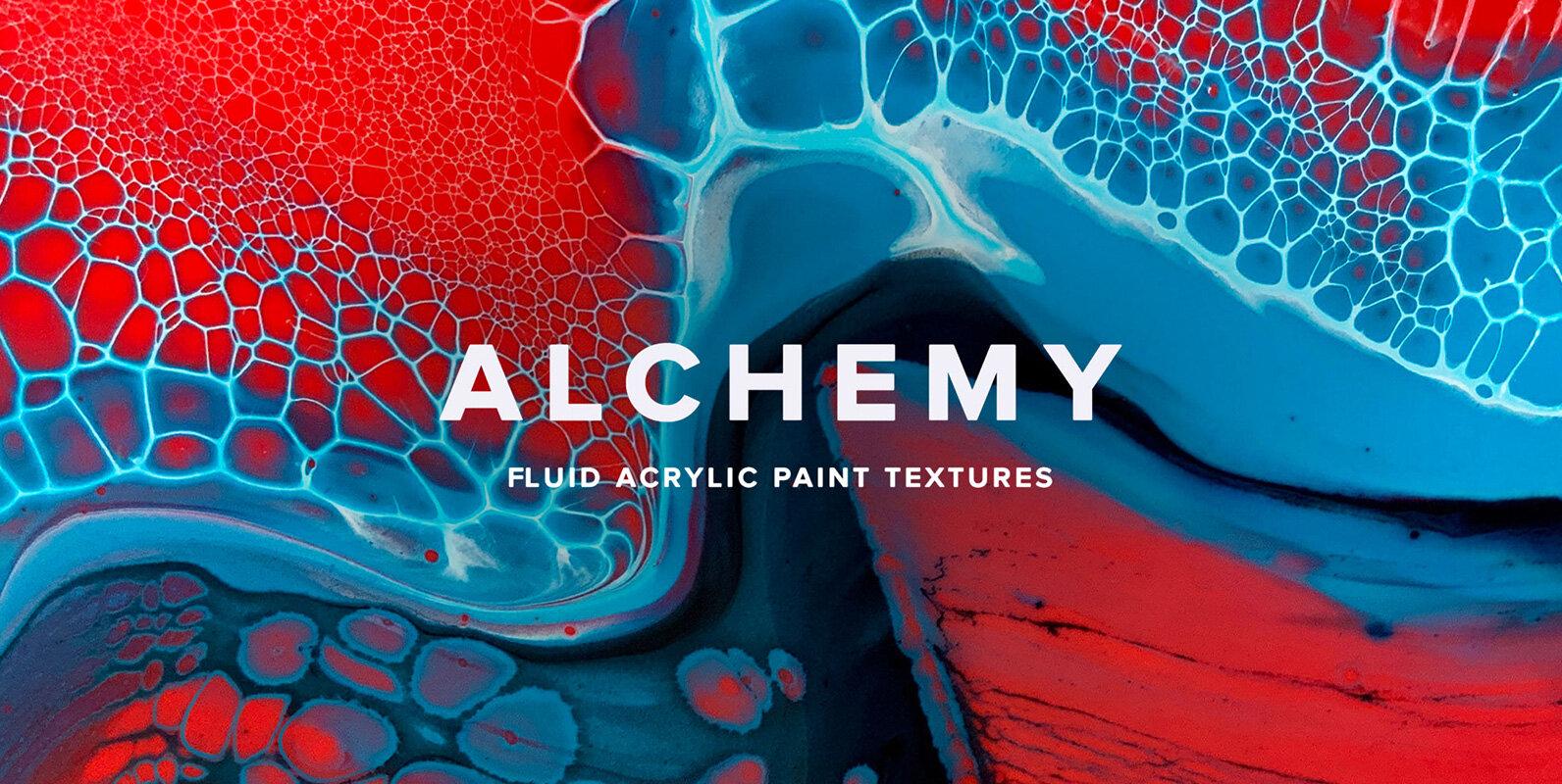 Alchemy – Fluid Acrylic Paint Textures