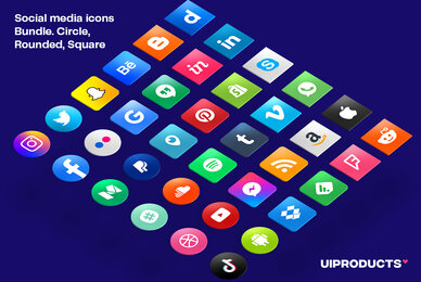 Social Media Icons Bundle