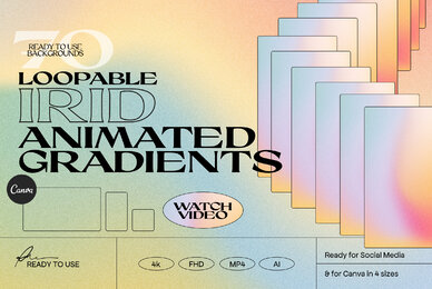 IRID   Animated Gradients Backgrounds