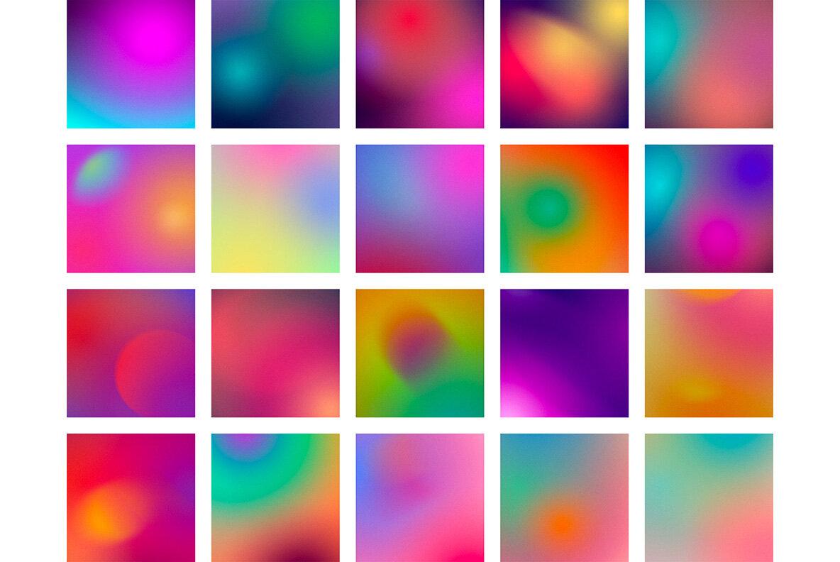 Funky Gradient Textures Vol 2
