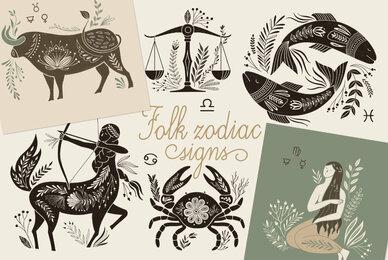 Folk Zodiac Signs