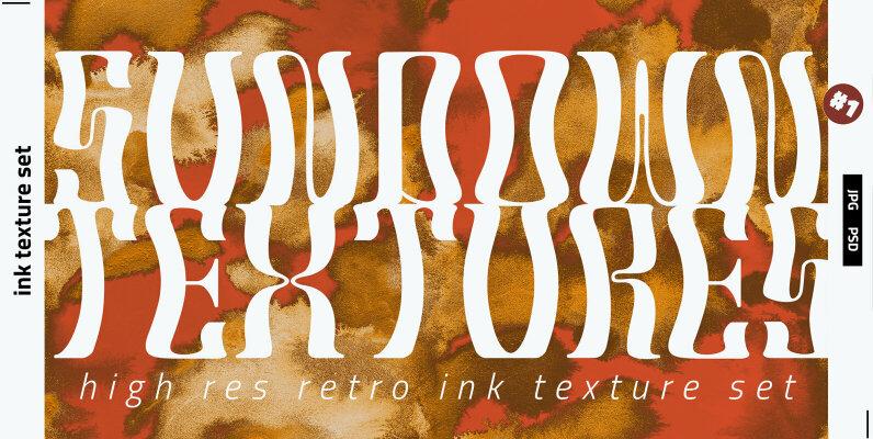 Sundown Ink Textures
