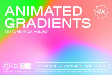 Animated Gradients Texture Pack