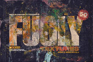 Fugly 50 Transparent PNG Textures