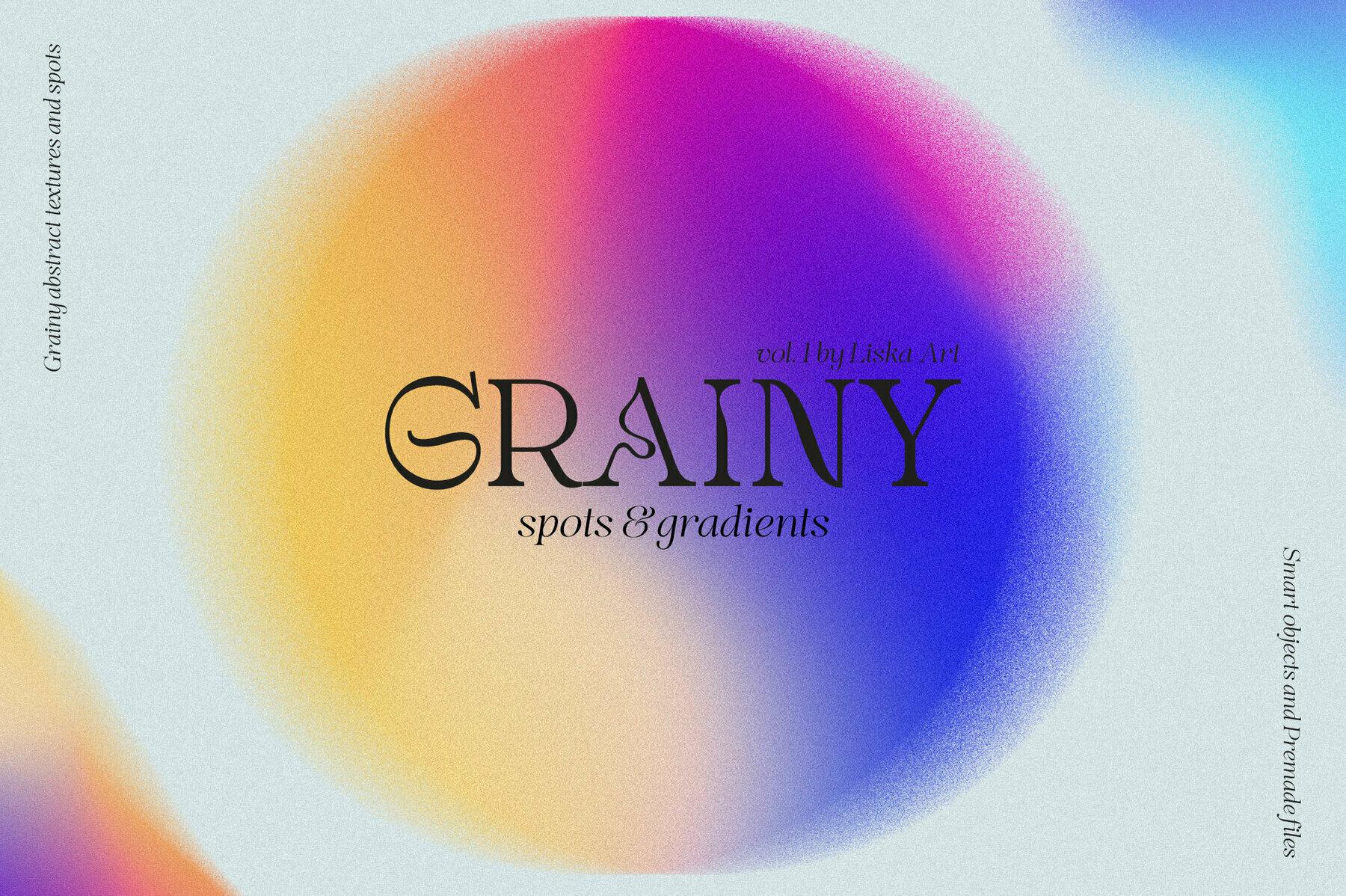 Grainy Spots   Gradients