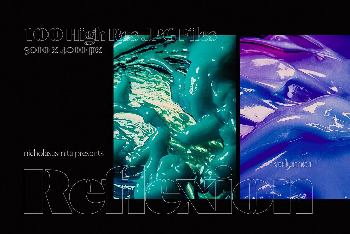 Reflexion Background Texture Vol 1