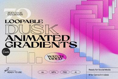 DUSK   Animated Gradients