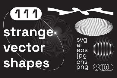 111 Strange Vector Shapes
