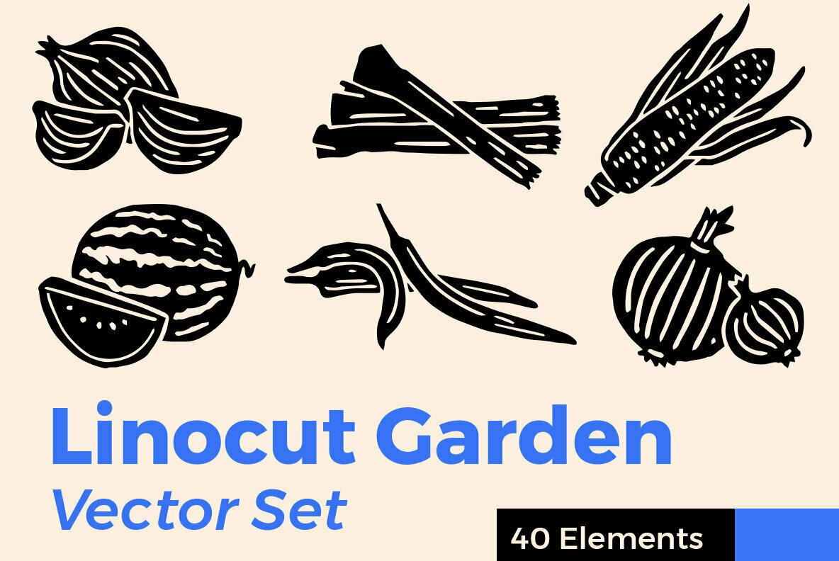 Linocut Garden Bundle