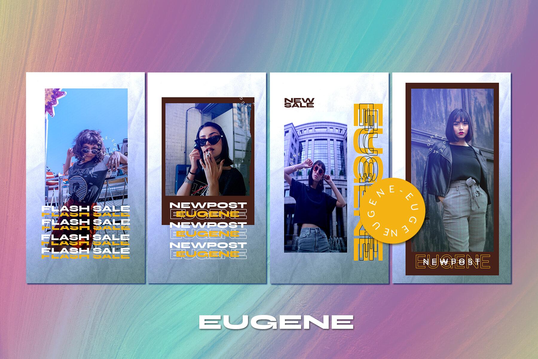 Eugene Instagram Template