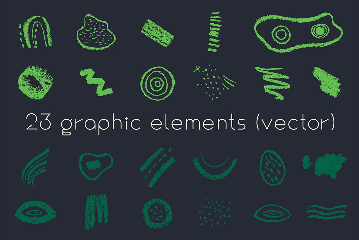 Ecorganic   Organic shapes   Ecology concept