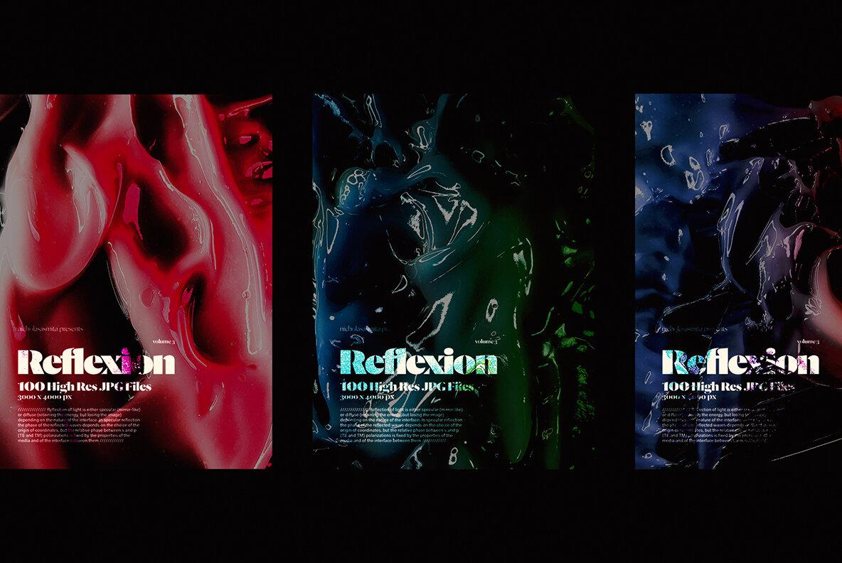 Reflexion Background Texture Vol 3